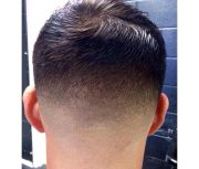 haircut. perfect blend fade