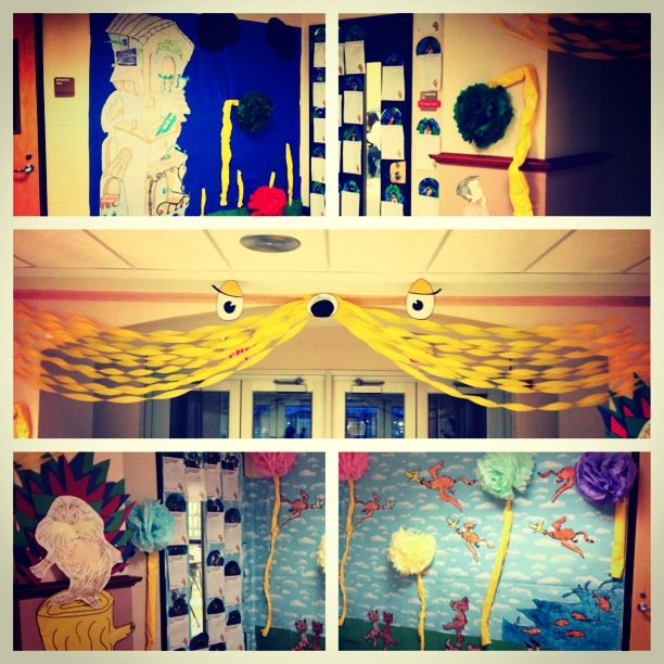 95 best images about Dr. Seuss door decorations on