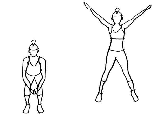 Jumping Jacks Benefit What Muscle