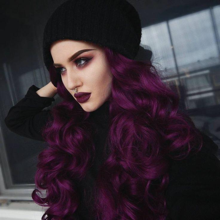 25+ Best Ideas about Dark Purple Hair on Pinterest