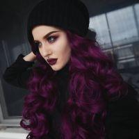 25+ Best Ideas about Dark Purple Hair on Pinterest | Plum ...
