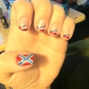 redneck nails pretty