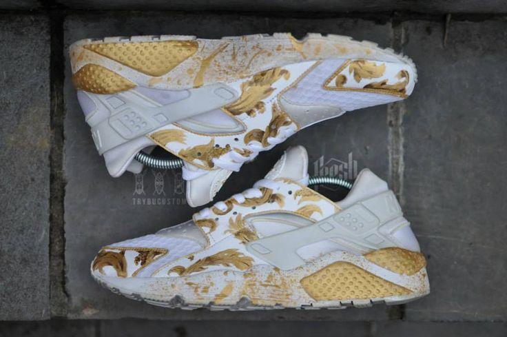 Nike Huarache Supreme Goldie Custom By Trybu Instagram