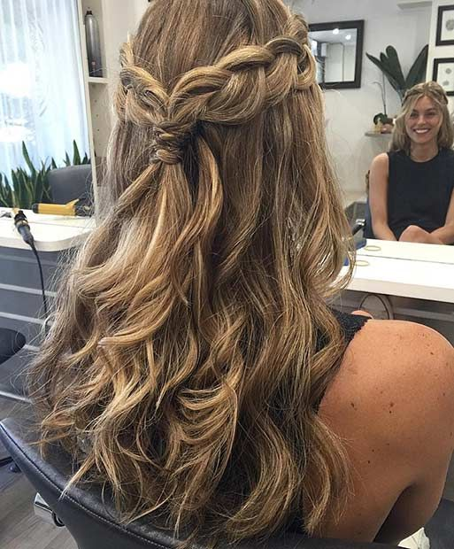 25 Best Ideas About Formal Hair Down On Pinterest Prom Hair