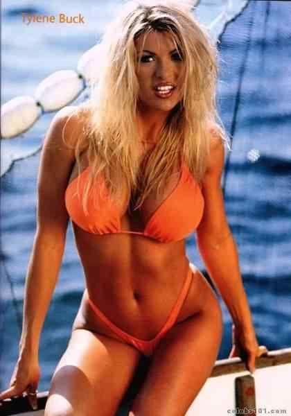 Tylene Buck Fitness Model And Wcw Wrestler Female