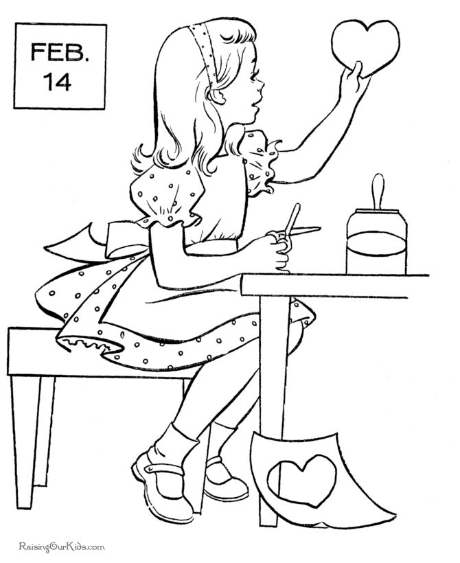 7 best Valentine's Coloring Pages images on Pinterest