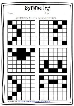 25+ Best Ideas about Symmetry Worksheets on Pinterest