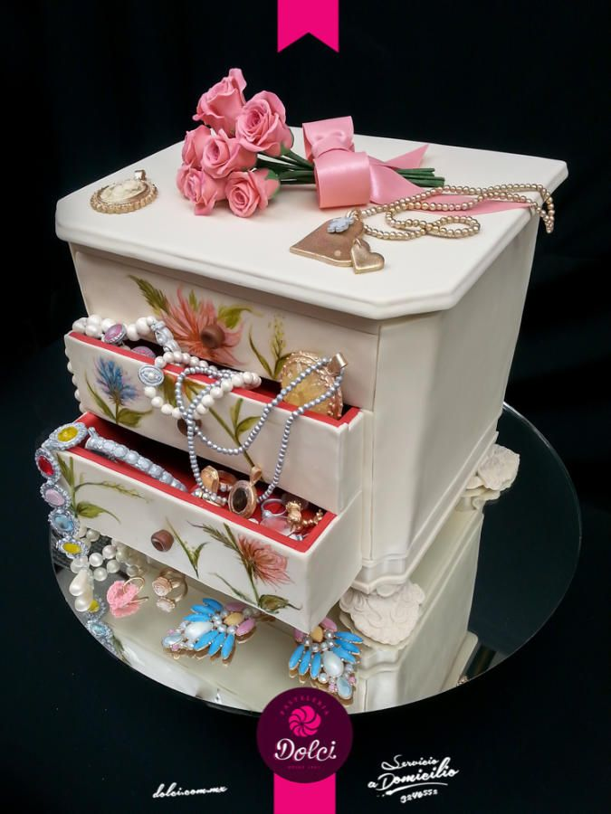 Jewelry Box Cake by Kalid M Torres  Cakes  Cake