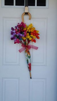 25+ best ideas about Umbrella wreath on Pinterest | How to ...