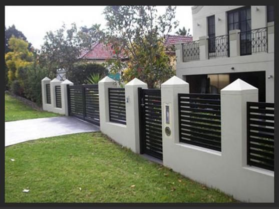 Modern House Gates And Fences Designs Google Search Projects