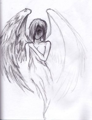 sad simple sketch angel drawings easy unfinished draw drawn google deviantart sketches pencil doodle things drawing cool depressed depression amazing