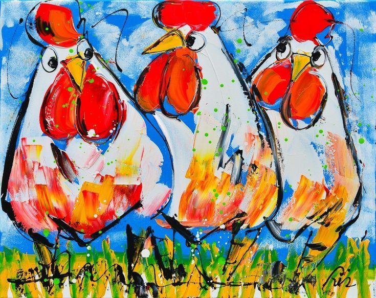 132 beste afbeeldingen over Kippen schilderen op Pinterest