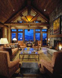 248 best Log Home/Loft Decorating images on Pinterest