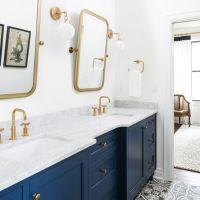 17 Best ideas about Navy Bathroom on Pinterest | Bathroom ...