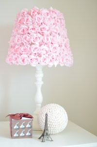 Pink rose lamp | Decorate the home | Pinterest | Artworks ...