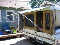 Camper awnings, Flag pole holder and DIY and crafts on ...