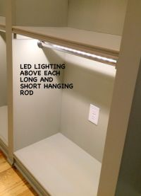 cool led direct wire closet light   Roselawnlutheran