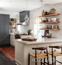 30 Kitchens That Dare To Bare All With Open Shelves | Open ...