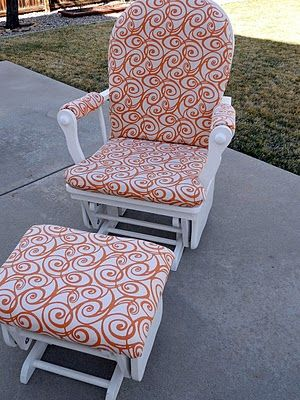 how to recover glider rocking chair cushions best chairs for back pain at home uk 25+ ideas about rockers on pinterest | rocker chair, nursery crafts ...