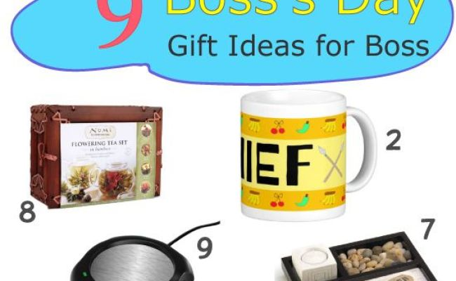 Boss Day 9 Gift Ideas For Your Boss Creative Bosses Day