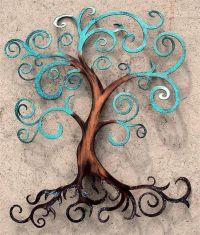 Tree of Life Curly Tree Wall Decor Wall Art | Trees, Tree ...