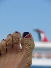 carnival cruise line nail design