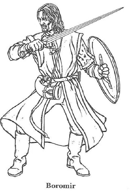 Lotr Coloring Pencil Coloring Coloring Pages