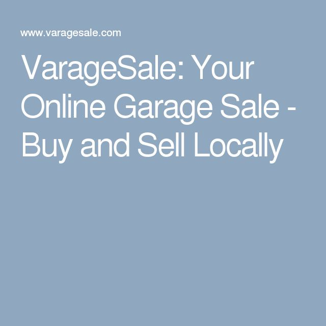 25 best ideas about Online garage sale on Pinterest  Ebay tips Money making crafts and Online