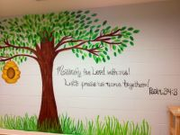 186 best images about wall murals on Pinterest   Church ...