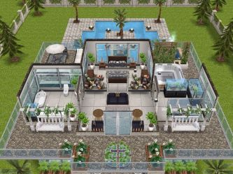 sims freeplay houses designs level play story homes layouts casas simsfreeplay plans sim