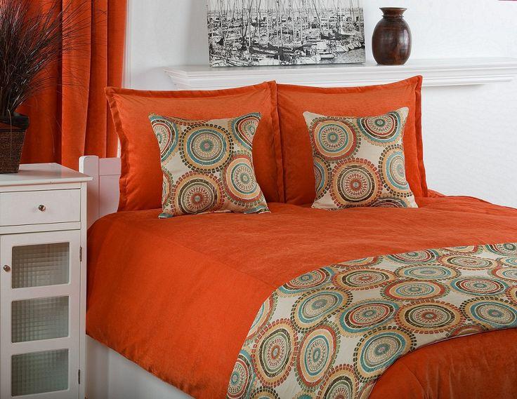 Comforters bed Pumpkins and Bed sets on Pinterest