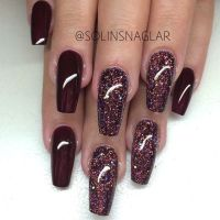 25+ best ideas about Maroon nails on Pinterest | Autumn ...
