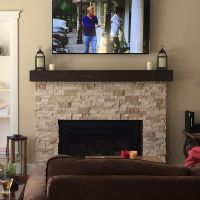 17 Best ideas about Fireplace Mantle Shelf on Pinterest ...