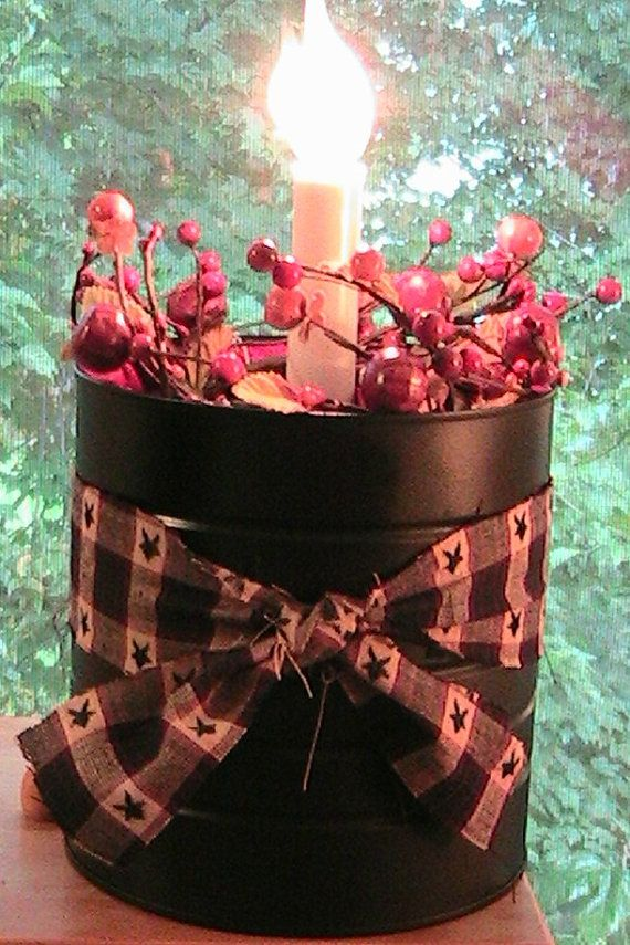31 best Coffee cansplastic craft ideas images on Pinterest