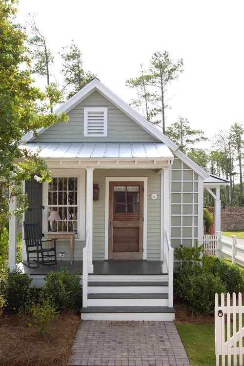 Low Impact Eco Friendly And Small Contemporary House Design With