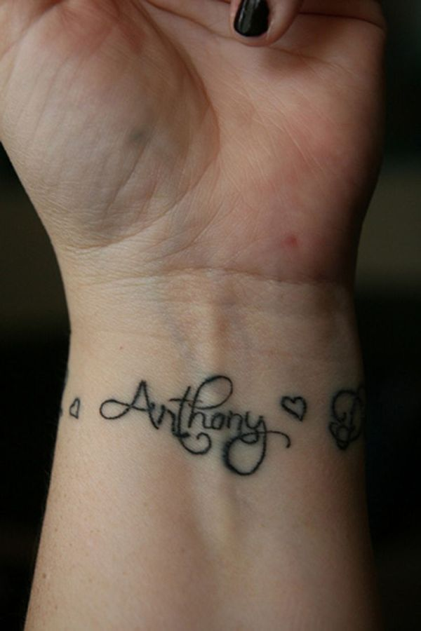 20 Wrist Name Tattoos For Women With Soms Ideas And Designs