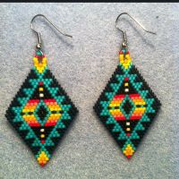 17 Best images about Beaded Earings on Pinterest