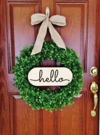 25+ Best Ideas about Summer Wreath on Pinterest | Door ...