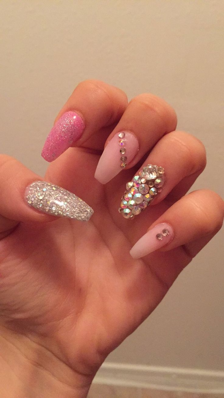 17 Best ideas about Sweet 16 Nails on Pinterest