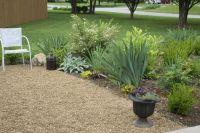 pea gravel patio | deck ideas | Pinterest | Gardens ...