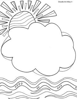 Name coloring pages--print and add students name for first