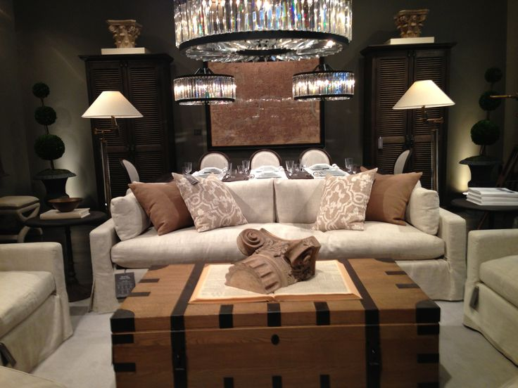 rustic gray sofa table argos in a box review 17 best images about restoration hardware makeover on ...