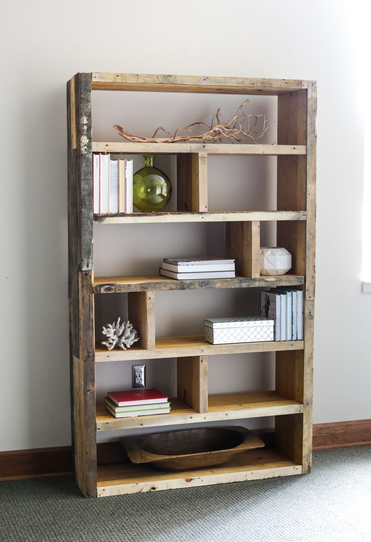 15 Must See Rustic Bookshelf Pins Bookshelf Diy Shelves