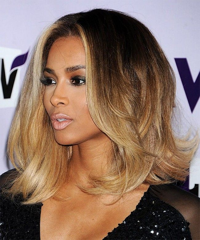 1000 images about Black women shoulder length hair on