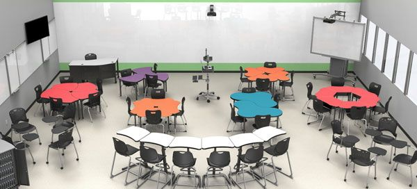 A modern learning environment calls for flexible seating