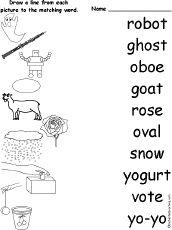 79 best images about long vowel sounds on Pinterest