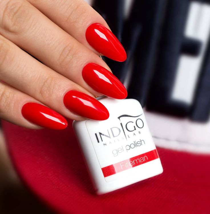 25+ best ideas about Red Gel Nails on Pinterest