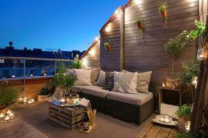 terrassen deko sommer   Modern Terrasse Dekoration ...