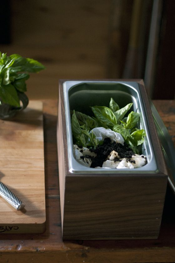 DIY Walnut Countertop Compost Bin Local Kitchen Craft