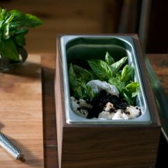 Diy Kitchen Countertops Tables With Bench Walnut Countertop Compost Bin | Local Craft ...